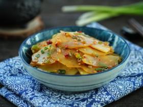 凉拌香辣土豆片