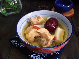 印度椰子鸡汤,成品
