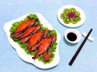 清蒸飞蟹,螃蟹的营养价值很高口感又非常鲜嫩