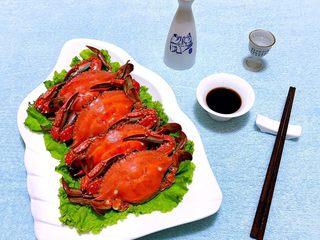 清蒸飞蟹,享受生活从现在开始