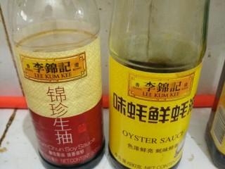 白玉菇炒肉,生抽,耗油,适量,