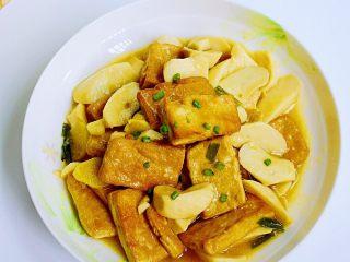 菌茹烩豆腐,来品尝美味吧。
