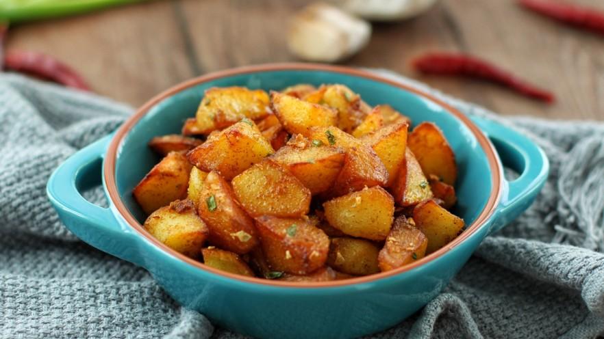 香辣孜然土豆块