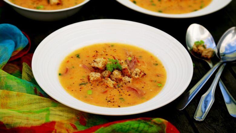 西红柿土豆浓汤