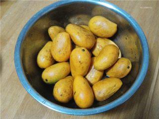 卷起来的美味-芒果酥皮,购买的小芒果;