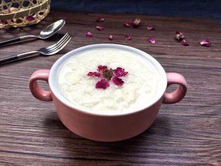 解渴消暑豆浆粥