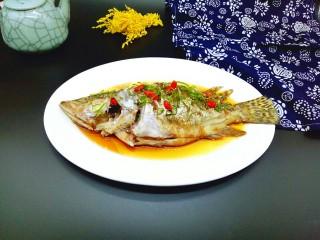 #味道鲜美的#清蒸桂鱼