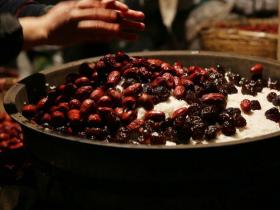 第一次吃没有红枣的甑糕,竟也这般香甜