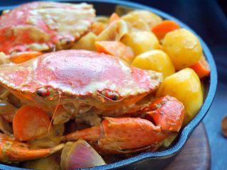 泰式椰浆土豆咖喱蟹,再看