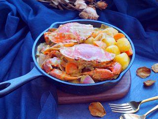 泰式椰浆土豆咖喱蟹,美味极了