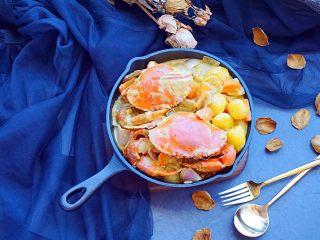泰式椰浆土豆咖喱蟹,美美哒