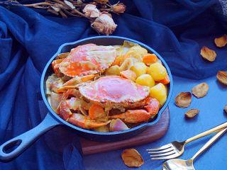 泰式椰浆土豆咖喱蟹,不错吧