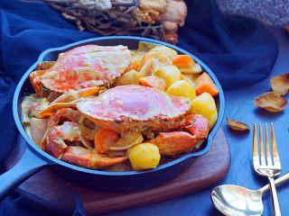 泰式椰浆土豆咖喱蟹,完成