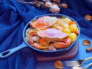 泰式椰浆土豆咖喱蟹,好吃