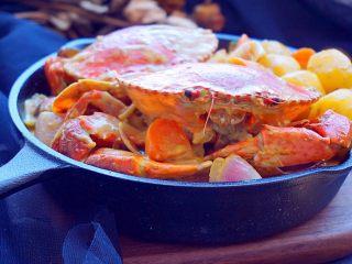 泰式椰浆土豆咖喱蟹,诱惑