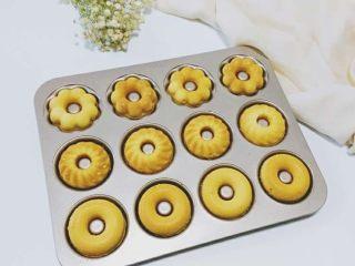 蛋糕甜甜圈,成品图