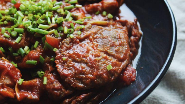 酸辣番茄汁煮软壳蟹