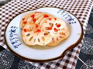 5分钟快手菜  香辣藕片