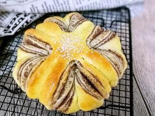 花式豆沙面包,成品!花式豆沙面包!