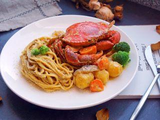 咖喱蟹意面,美味