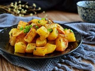 孜然土豆,简单又美味的孜然土豆块就做好了