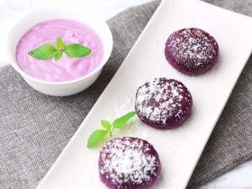 """""""瘦""""不了了!还是受不了?紫薯和香芋的甜蜜!诱人不?!"""