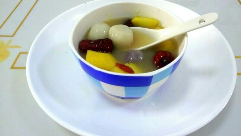 水果汤圆,成品