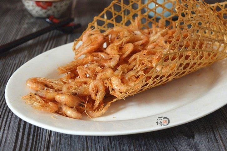 酥炸小河虾