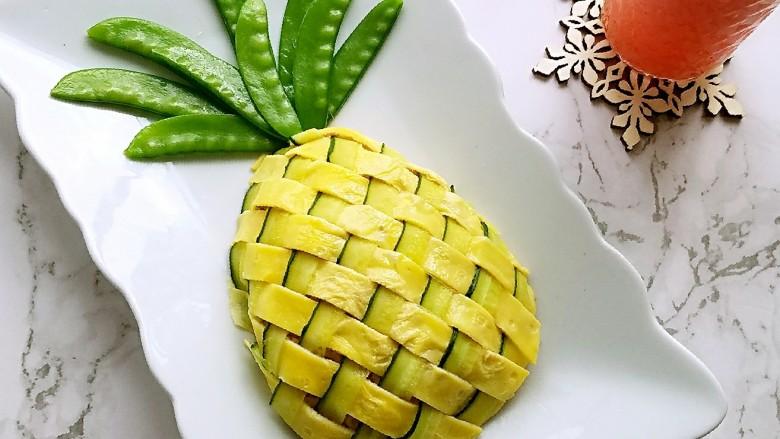 菠萝蛋包饭