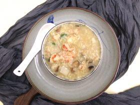 小米海鲜营养粥