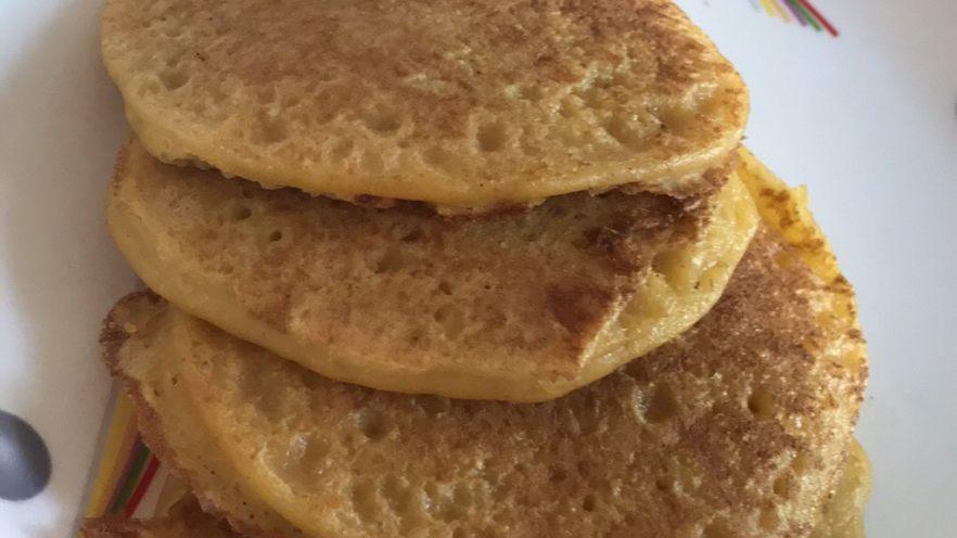 南瓜全麦松饼