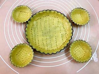 西梅乳酪派——每一口都让芝士控无比满足,用叉子叉出小孔