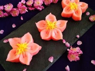 樱花和果子,成品图。