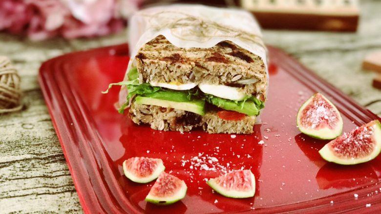 【健康】无面粉高纤能量面包