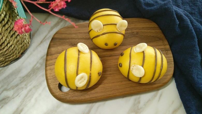 勤劳的小蜜蜂中式馒头
