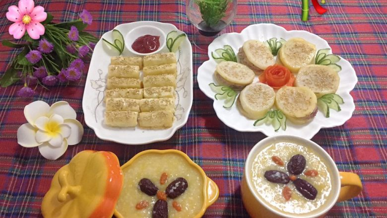小米南瓜红枣粥,美美的早餐,吃完一天元气满满滴。