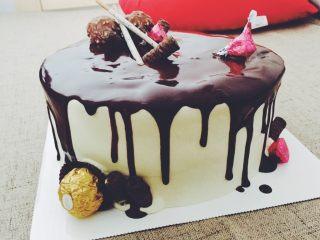 巧克力淋面蛋糕🍰 ,淋面的步骤比较着急忘记拍图了下次补上可以参考其他的