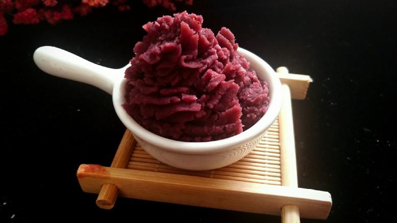 DIY手工紫薯馅