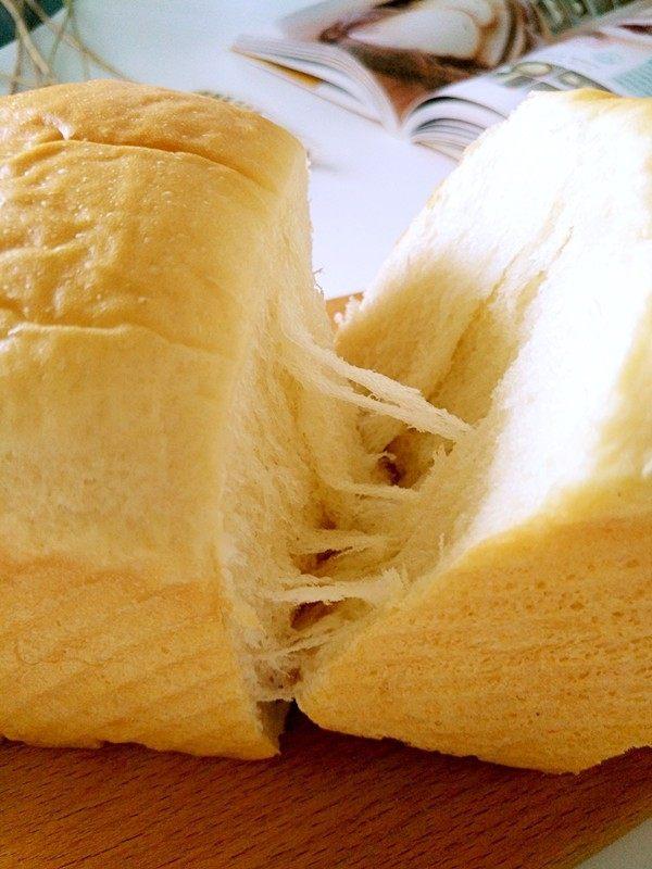 中种北海道吐司,成品图