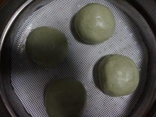 奇亚籽藜麦核桃巧克力青团,然后取20g的面团,搓成漏斗状后,放入20g的馅料,然后包成汤团状即可