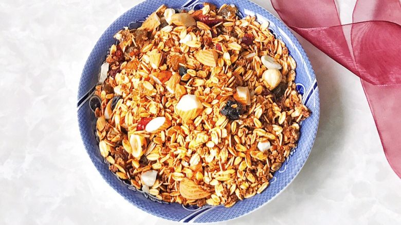 #甜味#无油低卡格兰诺拉燕麦片