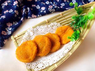 #甜味#南瓜豆沙饼,成品。