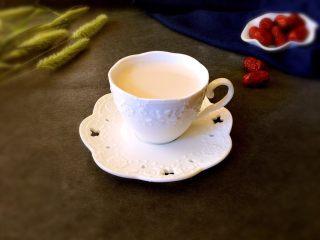 秋冬暖意下午茶-红枣奶茶