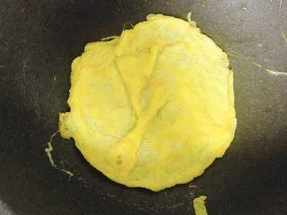 寿司🍣🍣,一个鸡蛋,摊成饼
