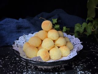 土豆椰蓉球,成品:特别好吃