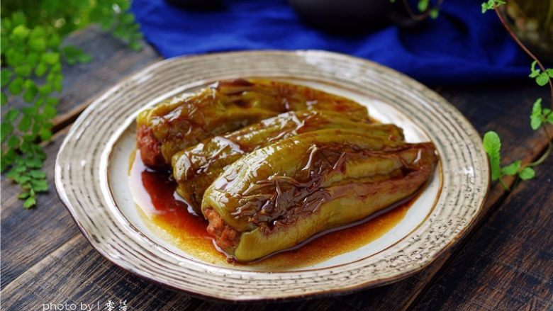 糖醋青椒酿肉