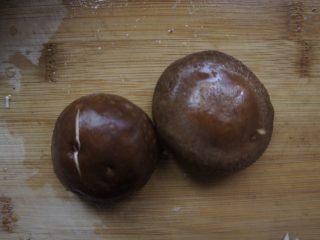 香辣肥牛饭,香菇两个