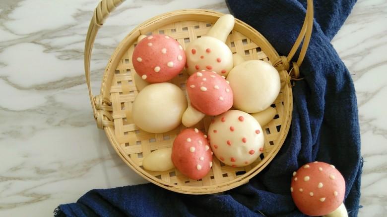 #甜味#仿真口蘑面食