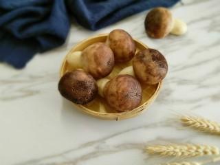 #甜味#香菇花式馒头