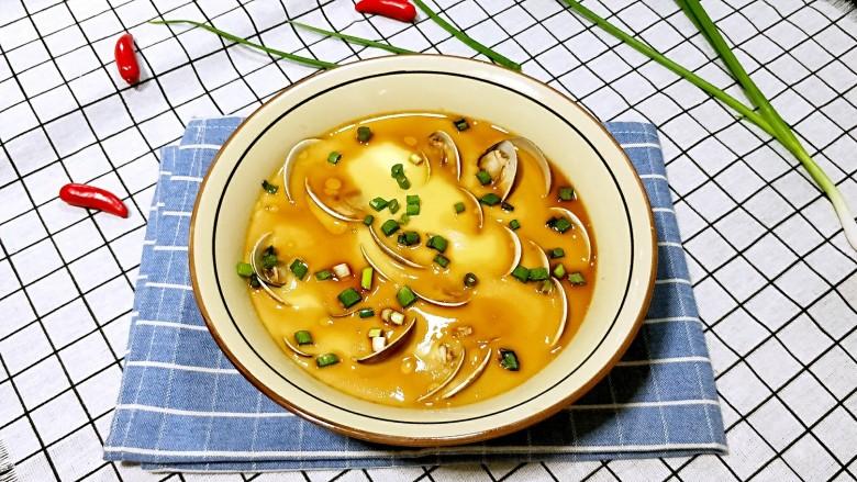 #咸味#文蛤炖蛋